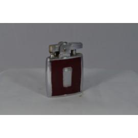 Vintage Refillable Lighter Maroon Ronson Monogram