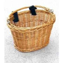 Avenir Small Wicker Handlebar Basket For Sale Online