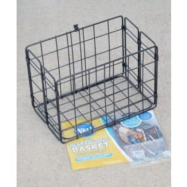 Wald Rear Folding Basket Black For Sale Online