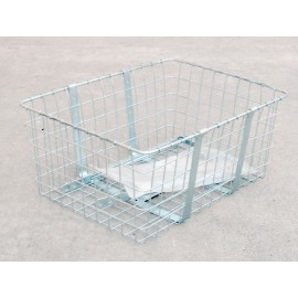 Wald Large Front Basket Chrome