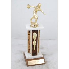 Vintage 1st Place 1973-74 Women's Bowling Trophy