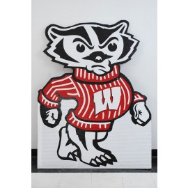University of Wisconsin Madison Bucky Badger Sign