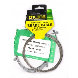 Tandem Brake Cable - By Various For Sale Online
