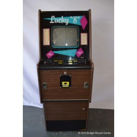 "Lucky ""8"" Video Slot Machine Cabinet"