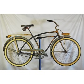 1940 Elgin 4 Star Deluxe Balloon Tire Bicycle