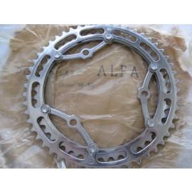 Zeus Alfa Criterium steel Chainwheel 3 pin 52t - 46t