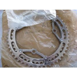 Zeus Alfa Criterium dura-aluminum Chainwheel 3 pin 52t - 46t