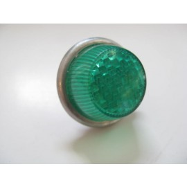 "Reflector Green dome  style 1""  vintage."