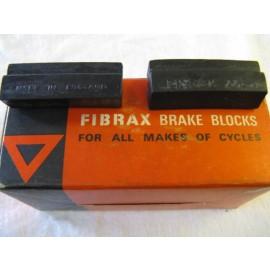 Fibrax 245 replacement brake pads for John Bull calipers