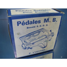 Berthet Lyotard Pedals Road no. 23 NOS 1/2