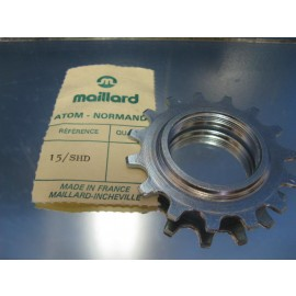 Maillard Helicomatic  Freehub cog 15 shd threaded NOS