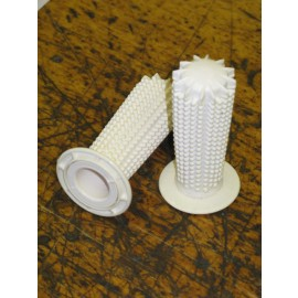 Fun Bumpy Grips for Kids, in White