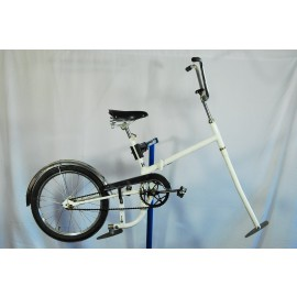 Ice Ski Bicycle