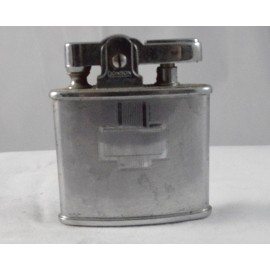 Vintage Refillable Lighter Ronson Standard Silver Blank Monogram