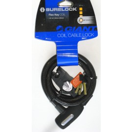 Coil Cable Key Lock - By Giant For Sale Online