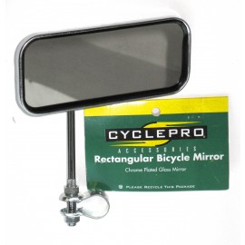 Rectangular Bicycle Mirror - By CyclePro For Sale Online