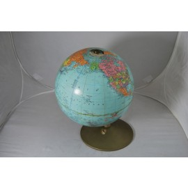 "Vintage 10"" Replogle World Reference Globe"