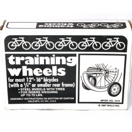 12 to 16 inch Training Wheels - By Wald For Sale Online