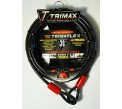30ft by 3/8in Security Cable - By Trimax