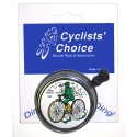 """First Safety Bicycle"" Bell (Silver) - By Cyclists' Choice"