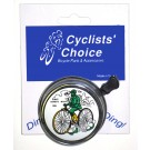 Cyclists' Choice Bell Safety Silver For Sale Online