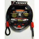 15ft by 3/8in Security Cable - By Trimax For Sale Online