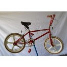 1980's Red BMX Freestyle