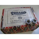 "Phillips Raleigh 3/8"" hub spindle nuts for rear axles chrome"
