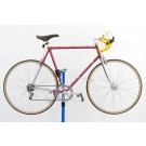 Vintage Italian Lugged Steel Road Bicycle 59cm