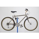 "1986 Schwinn High Sierra Mountain Bike Smokey Chrome 17"" Bicycle Shimano"