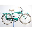 1952 Schwinn Green Phantom Bicycle 19""