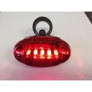 Red Rear Bicycle Safety Light by Trek