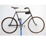 1800s Antique Wooden Rim Block Chain Bicycle