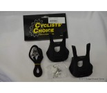 Cyclists' Choice Resin Toe Clip and Strap Set LARGE