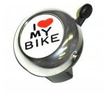 Lexco I Love My Bike Bell For Sale Online