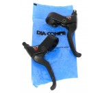 X-1 Short Stop Brake Levers - By Dia-Compe For Sale Online