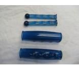 Metalplast Handle Bar Grips & Lever Covers Blue