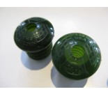 Hunt Wilde Campus Green handle bar end plugs
