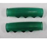 Metalplast Handle Bar Grips in Green NOS