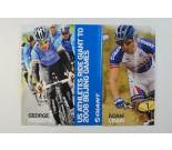 Giant Bicycles George Hincapie Adam Craig Beijing Olympics poster