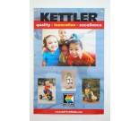 Kettler Tricycle Advertising Poster Double Sided