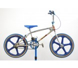 """1982 Chrome Mongoose BMX Bicycle 12"""""""