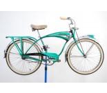 """1952 Schwinn Green Phantom Bicycle 19"""""""