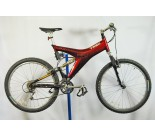 1995 Trek Y22 full suspension mtb mountain bike bicycle Ice Red Xray XT