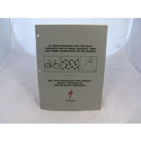 Vintage NOS Specialized Dealer Tech Manual 1994