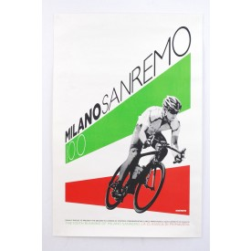 SRAM Lance Armstrong Milano San Remo 100th Anniversary Poster