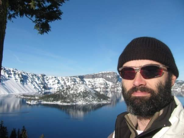 Adam @ Crater Lake