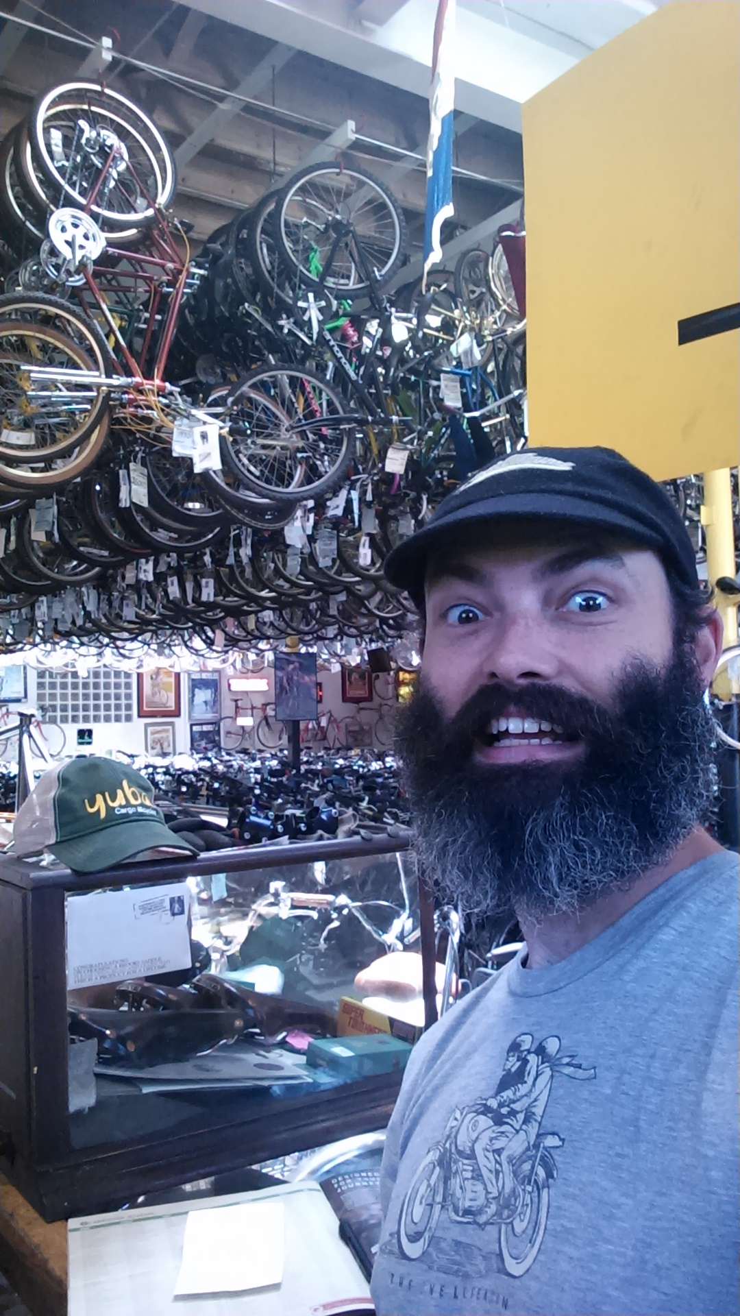 Adam at Home in the Bike Shop